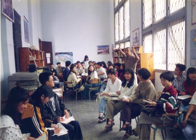 Octobre 1997, à l'Espace Francophone, de l'Université de Dalat