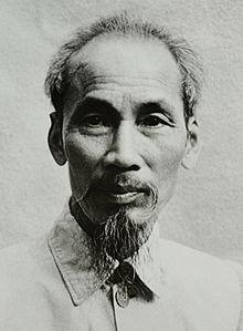 Ho Chi Minh (1890 - 1969), fondateur du Parti communiste vietnamien