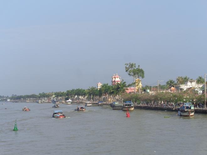 Sadec, dans le delta du Mékong, lundi matin