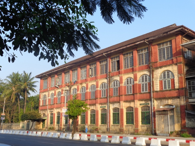 Ancienne école, Anawrahta St.