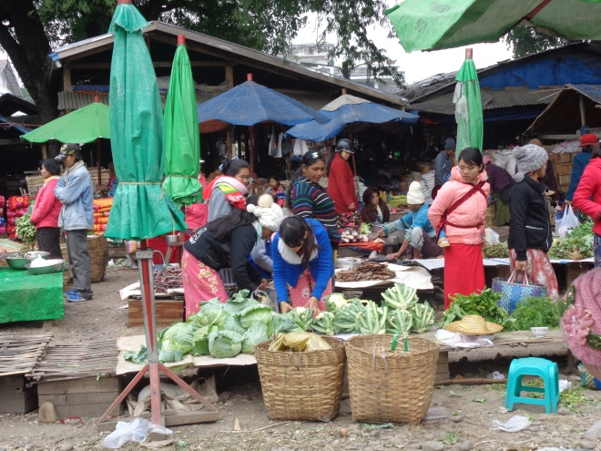Marché shan, Hsipaw