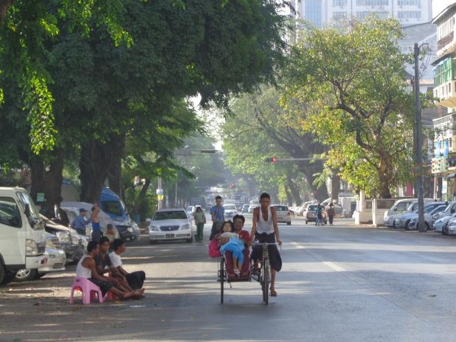 Yangon, janvier 2015