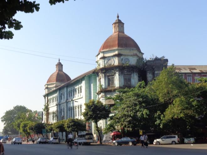 Ancienne Cour de Justice, Yangon