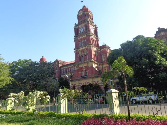 Cour de Justice, Yangon