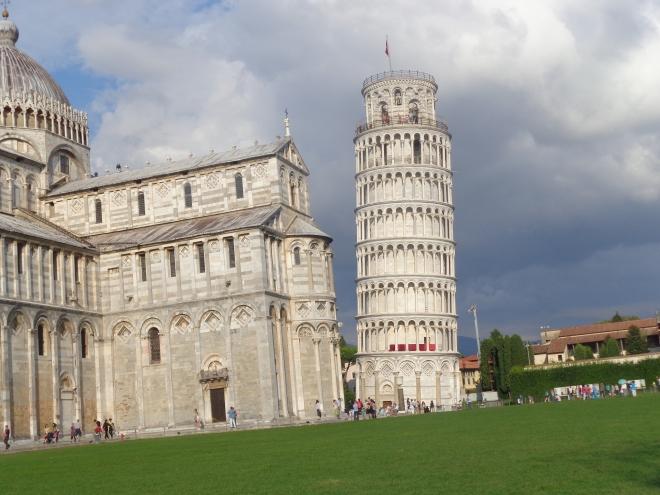 La Tour penchée de Pise.