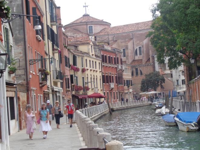 Fondamenta Tolentini, quarier Santa Croce