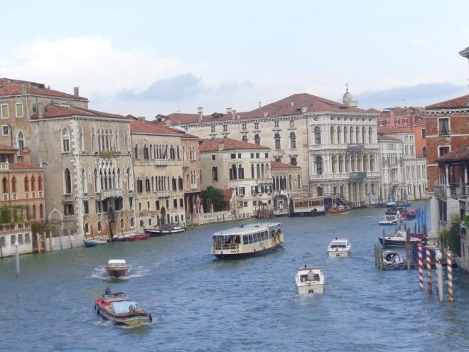 Du pont Scalzi, première impression de Venise, dimanche 13 septembre 2015.