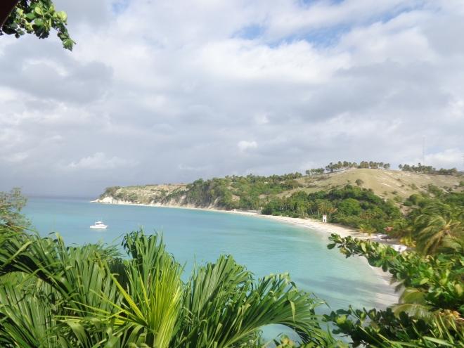 La grande plage de l'anse Dufour, Île-à-Vache, vendredi 22 janvier.