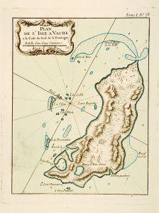 Ancienne carte de lîle-à-vache