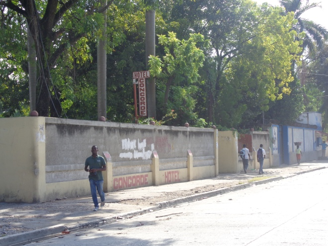 Avenue des Gabions, les Cayes.