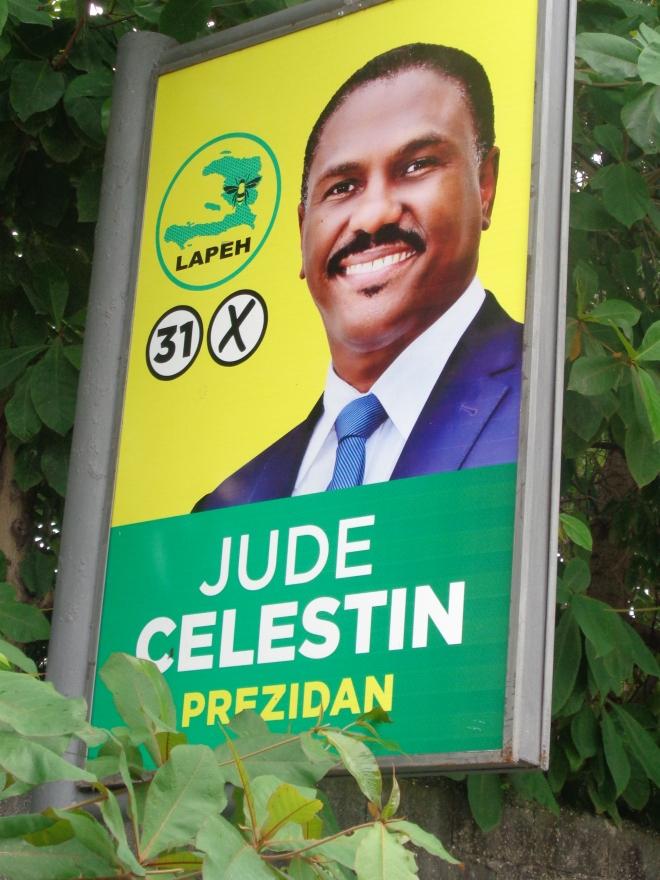 L'un des deux candidats au second tour des élections présidentielles...