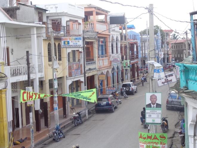 Grande Rue, Les Cayes, jeudi 14 janvier