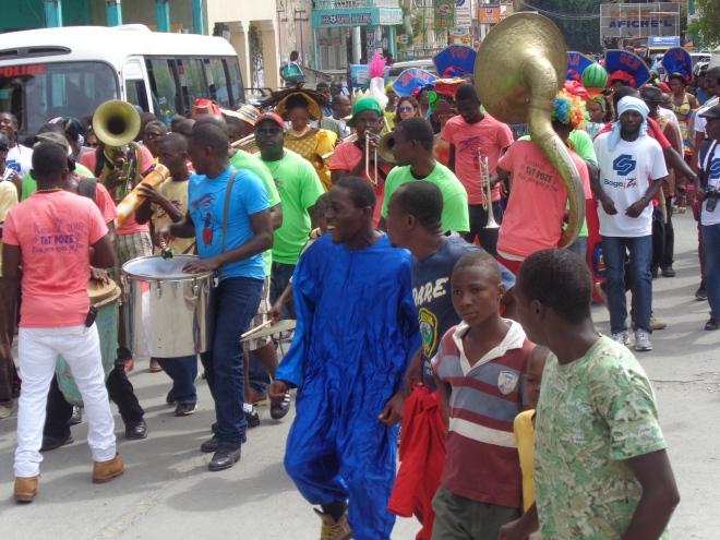 Jacmel, dimanche 31 janvier.