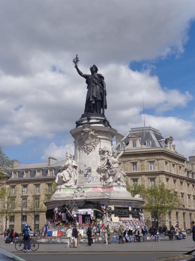 Place de la République, Paris.