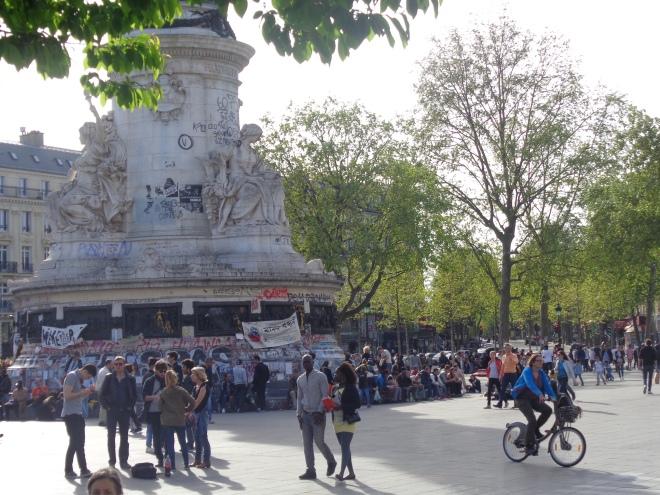 Place de la République, jeudi 5 mai.