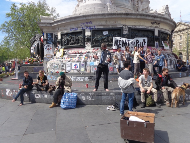 Place de la République, samedi 7 mai