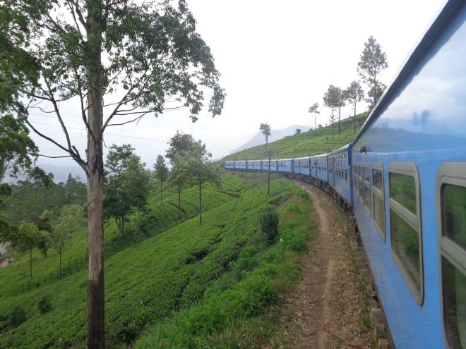 Trois fois par jour, un train relie Kandy aux petites villes situées en altitude dans une très belle région devenue, depuis la colonisation britannique, un des principaux centres de production de thé en Asie. Il faut compter six heures de trajet entre Kandy et Ella. Le paysage est splendide. Ce voyage en train est une des principales attractions touristiques du Sri Lanka.